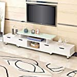Generic Cabinet t Entertainment Unit nit Ca Adjustable Length Large V St Color:Random Length Lar TV Stand