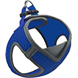 Kruz PET KZA308-02S Reflective V-Neck Step in Mesh Dog Harness - No Pull, Easy Walk, Quick Fit, Comfortable, Velcro-Adjustabl