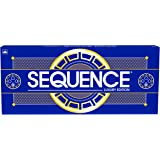 Sequence Luxury Edition - Stunning Set with Deluxe, Cushioned, Roll-Flat Game Mat - Amazon Exclusive by Goliath , Blue