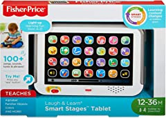 Fisher-Price CDG33 Laugh and Learn Smart Stages Tablet