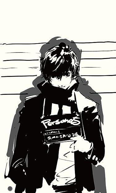 ペルソナ  iPhone/Androidスマホ壁紙(480×800)-1 - ペルソナ5 主人公 (『ペルソナ5 The Animation』雨宮蓮)