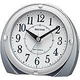 リズム(RHYTHM) 電波時計 目覚まし時計 電子音アラーム (ジャストアラーム機能) ライト付き 4RL439SR04