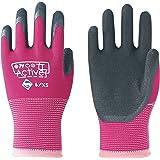 東和コーポレーション 作業用手袋 Active女子 ローズピンク 6/XS 520 女性の悩みを解決する作業手袋