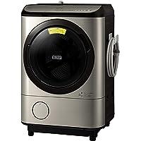日立 ドラム式洗濯乾燥機 洗濯12kg/乾燥6kg ステンレスシャンパン ビッグドラム BD-NX120EL N 左開き…