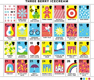 SUNSHINE ON MY MIND 1998-2018 - three berry icecream 20th Anniversary -