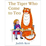 The Tiger Who Came To Tea [50th Anniversary Edition]: The bestselling classic children's book, from the beloved Judith Kerr