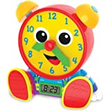 The Learning Journey - Telly Jr. Teaching Time Clock - Primary Color - Telling Time Teaching Clock - Toddler Toys & Gifts for