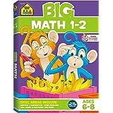 School Zone Big Math Grades 1-2 Workbook