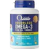 Ocean Health 1000mg Odourless Omega 3 Fish Oil Softgels, 60 Count