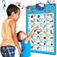Electronic Interactive Alphabet Wall Chart Talking ABC Poster Educational Music Toy for Baby and Toddler Fun Learning Activit