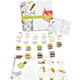 Te Tonic experience Gin Partybox, 24 Infusions 8 Botanicals flavouring Cocktails