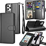 Tekcoo Wallet Case for iPhone 11 Pro Max (6.5 inch) 2019 Luxury ID Cash Credit Card Slots Holder Carrying Pouch Folio Flip PU