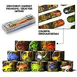 Dinosaur Slap Bracelets Party Favors Combo (12 designs) Wristband slap band Jurassic World Toys for birthday party, School Cl