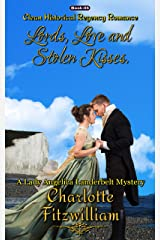 Lords, Love, and Stolen Kisses (Book 5) (Large Print): Clean Historical Regency Romance (A Lady Angelica Landerbelt Mystery) Kindle Edition