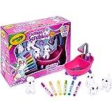 Crayola Scribble Scrubbie Pet Play Set, Colour, Rinse & Re-Pet, Colour & Clean Adorable Pets, Washable Toy, Featuring 2 Dogs,