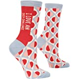 Blue Q Women's Novelty Crew Socks - Beautiful Day (Women's Size 5-10)