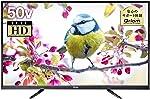 山善 キュリオム 50V型 2K フルハイビジョン 液晶テレビ (地上・BS・110度CS)(外付けHDD録画対応)(裏番組録画対応) 東芝映像エンジン採用 QRS-50W2K