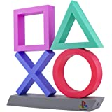Paladone Playstation Icons XL   3 Modes-Music Reactive Game Room Lighting   Eco-Friendly BDP Breakdown Plastic   Perfect for
