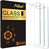 Ailun Glass Screen Protector Compatible for iPhone 12/iPhone 12 Pro 2020 6.1 Inch 3 Pack Tempered Glass 2.5D Edge Anti Scratc