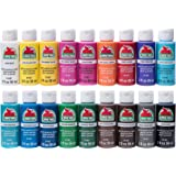 Apple Barrel PROMOABI Matte Finish Acrylic Craft Paint Set Designed for Beginners and Artists, Non-Toxic Formula that works o