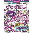 Notebook Doodles Go Girl: Coloring & Activity Book: 6