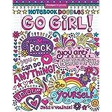 Notebook Doodles Go Girl!: Coloring & Activity Book: 6