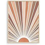 Haus and Hues Boho Art Prints Sun Wall Decor - Sun Art Print Boho Art Wall Decor | Boho Posters and Prints Wall Decor Boho Wa