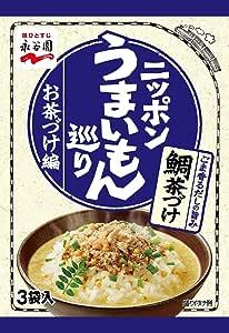永谷園 ニッポンうまいもん巡り お茶づけ編 鯛茶づけ 3袋入×10個