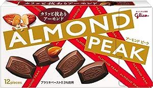 江崎グリコ アーモンドピーク 12粒×10個 アーモンドチョコレート