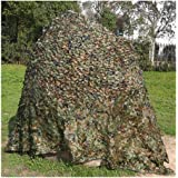 Outdoor Visor Camouflage Net Jungle Mode Camouflage Net Double-Layer Wild Hide Bird Photography Planting Indoor Awning Cs Gam