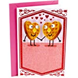 Hallmark Shoebox Funny Valentine's Day Card, Anniversary Card, or Love Card for Significant Other (Waffles Joke)