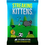 EKG-2EXP Streaking Kittens: This Is The Second Expansion of Exploding Kittens, 5 with base game