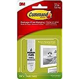 Command Picture Hanging Strips, Medium, White, 6-Pairs (17204-ES)