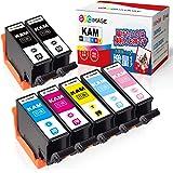 GPC Image KAM-6CL-L + KAM-BK-L エプソン用 カメ インクカートリッジ 7本パック Epson対応 EP-882AW EP-882AB EP-882AR EP-881AW EP-881AB EP-881AR EP-881A