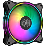 Cooler Master MasterFan MF120 Halo PCケースファン RGB搭載 シングルファン デュアルループ MFL-B2DN-18NPA-R1 FN1367