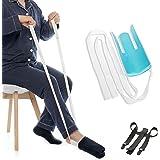 Fanwer ソックスエイド 靴下 介護用品 履き 補助具 まごの足 先割れタイプ 自立支援