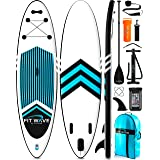 FITPULSE Inflatable Stand Up Paddle Board 11'