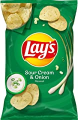 Lay's Sour Cream and Onion Potato Chips, 184.2g