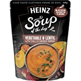Heinz Soup of The Day - Vegetable and Lentil Soup, 430g