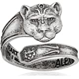Alex and Ani Womens Spoon Ring Wild Heart