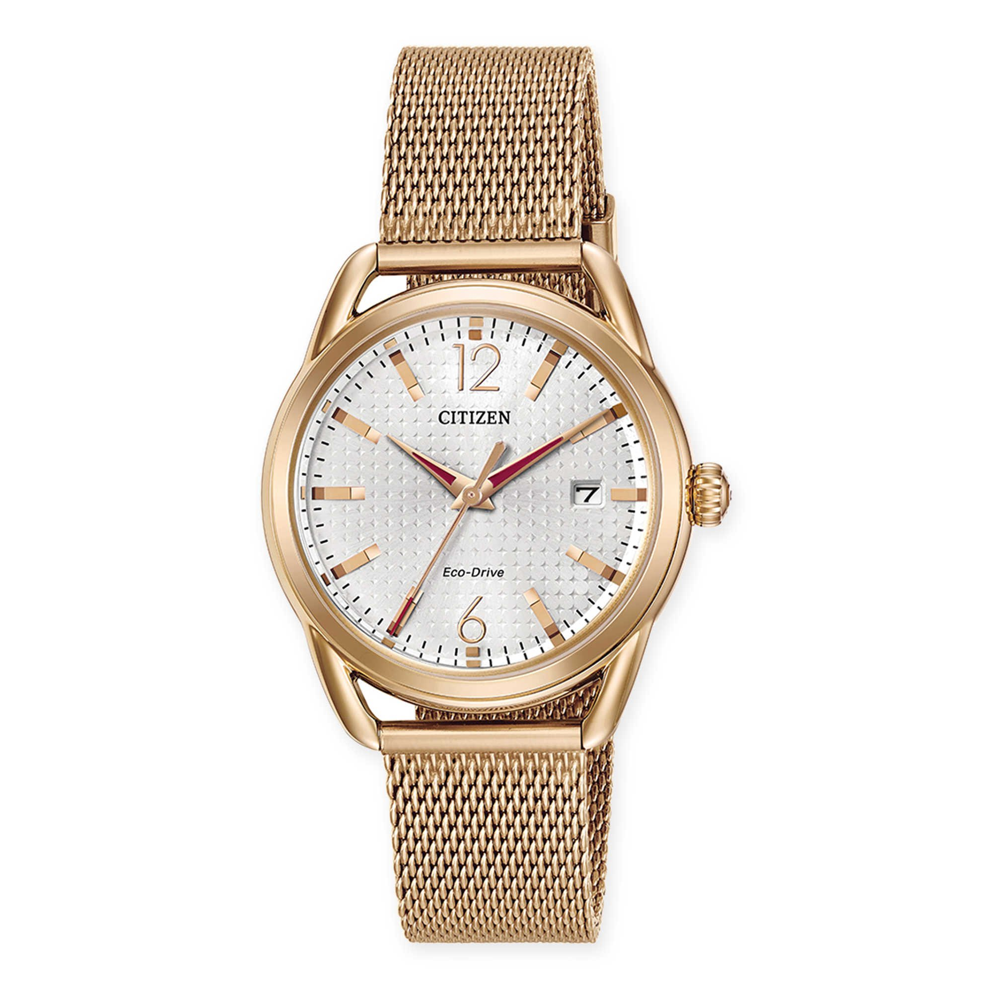 Citizen Women's Eco-Drive Mesh Bracelet Watch