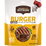 Rachael Ray Nutrish Burger Bites Grain Free Dog Treats, Beef Burger with Bison Recipe, 12 oz, Green (46640330)
