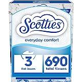 Scotties Everyday Comfort Facial Tissues, 230 Tissues per Box, 3 Pack