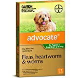 Advocate Flea, Heartworm and Worm Control for Puppies, Green, 1 Pack