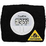 CoolFire Vibrating Alarm Clock - Silent Alarm Wristband Vibrating Alarm Watch. Silent Wrist Shock Alarm Clock. Vibration Alar