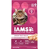 IAMS PROACTIVE HEALTH Adult Urinary Tract Health Dry Cat Food with Chicken Cat Kibble, 7 lb. Bag