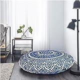 Indian Large Mandala Floor Pillow Comfortable Home Car Bed Sofa Large Mandala Floor Pillows Round Bohemian Meditation Cushion