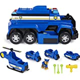 Paw Patrol 6058318 Chase's 5-in-1 Ultimate Cruiser with Lights and Sounds, for Kids Aged 3 and up