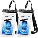 Mpow 097 Universal Waterproof Case, IPX8 Waterproof Phone Pouch Dry Bag Compatible for iPhone Xs Max/XR/X/8/8P/7/7P Galaxy up