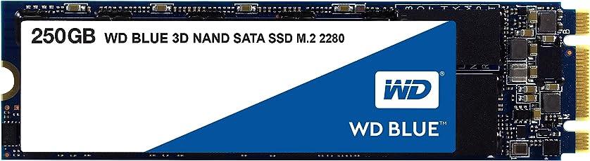 WD 内蔵SSD M.2-2280/250GB/WD Blue 3D/SATA3.0/5年保証/WDS250G2B0B